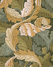 William Morris, behangontwerp